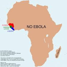 Ebola is in Africa, but not in South Africa